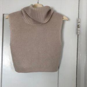 BCBG turtleneck sweater vest